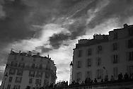 France. Paris,  11th district.  Canal Saint martin