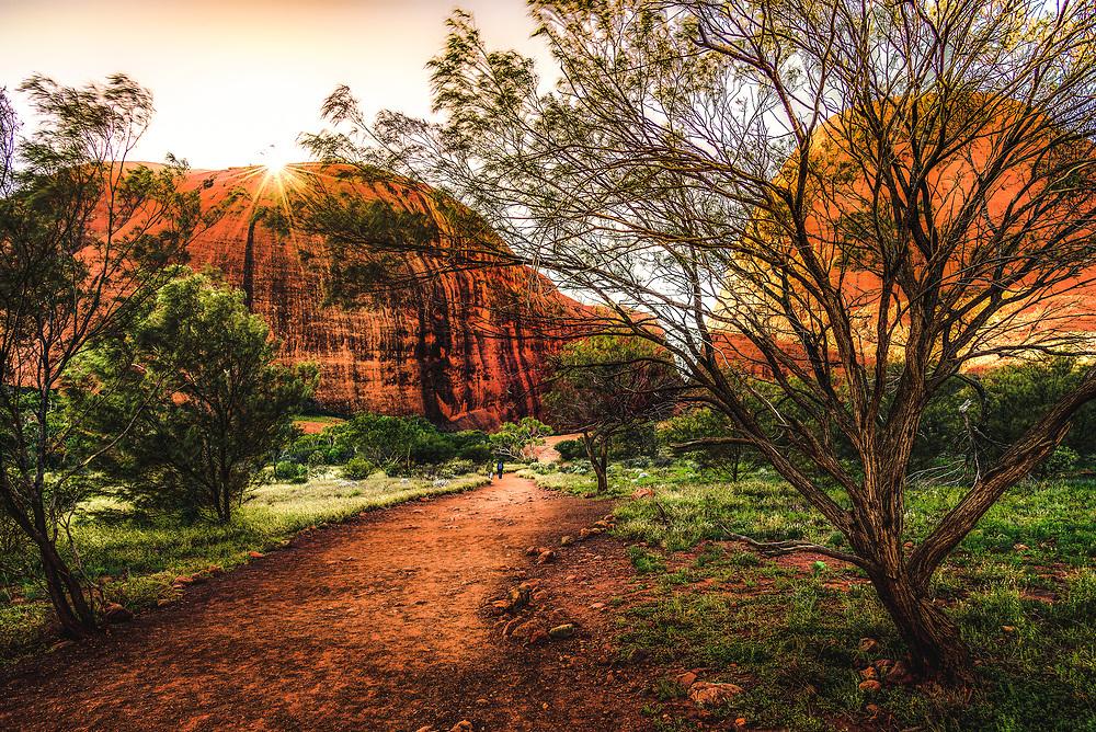 Walpa Groge at Kata Tjuta, Northern Territory
