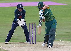 June 15, 2018 - Canterbury, England, United Kingdom - Laura Wolvaardt South Africa Women.during Women's One Day International Series match between England Women against South Africa Women at The Spitfire Ground, St Lawrence, Canterbury, on 15 June 2018  (Credit Image: © Kieran Galvin/NurPhoto via ZUMA Press)