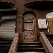 Old building in Harlem.