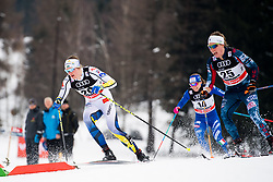 January 6, 2018 - Val Di Fiemme, ITALY - 180106 Linn SÅ¡mskar of Sweden competes in women's 10km mass start classic technique during Tour de Ski on January 6, 2018 in Val di Fiemme..Photo: Jon Olav Nesvold / BILDBYRN / kod JE / 160122 (Credit Image: © Jon Olav Nesvold/Bildbyran via ZUMA Wire)