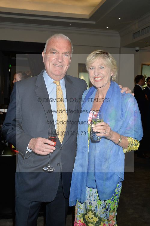 JAMES & JANIE OSBORNE he is the uncle of George Osborne at a party to celebrate the publication of the Summer edition og the Fitzdares Times held at Theo Fennell, 169 Fulham Road, London on 13th June 2016.