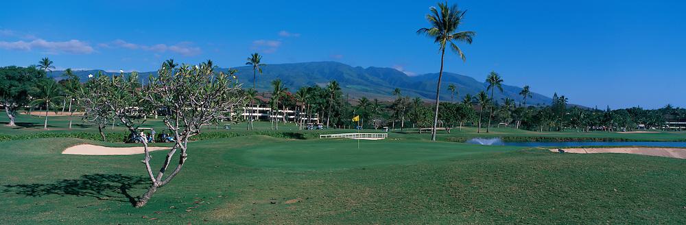 Kaanapali Golf Course, Maui, Hawaii<br />
