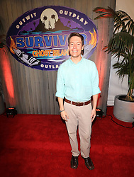 """Donathan Hurley at the season 36 finale celebration of """"Survivor: Ghost Island"""" held at CBS Television Studios in Los Angeles, CA."""