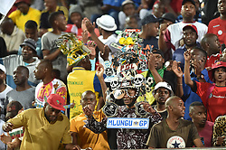 South Africa: Johannesburg: Highlands Park followers come in large numbers to support their team as it plays against Kaizer Chiefs for the Absa premiership at Makhulong stadium in Tembisa, Gauteng.<br />Picture: Itumeleng English/African News Agency (ANA)