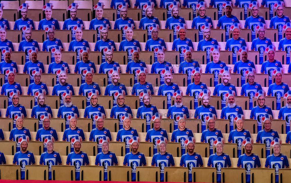 Support during the Women's EHF Euro 2020 match between France and Russia at Jyske Bank BOXEN on december 11, 2020 in Kolding, Denmark (Photo by RHF Agency/Ronald Hoogendoorn)