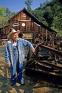 Steven Goble, Owner Steve's Antiques, Fiddletown Amador County, California