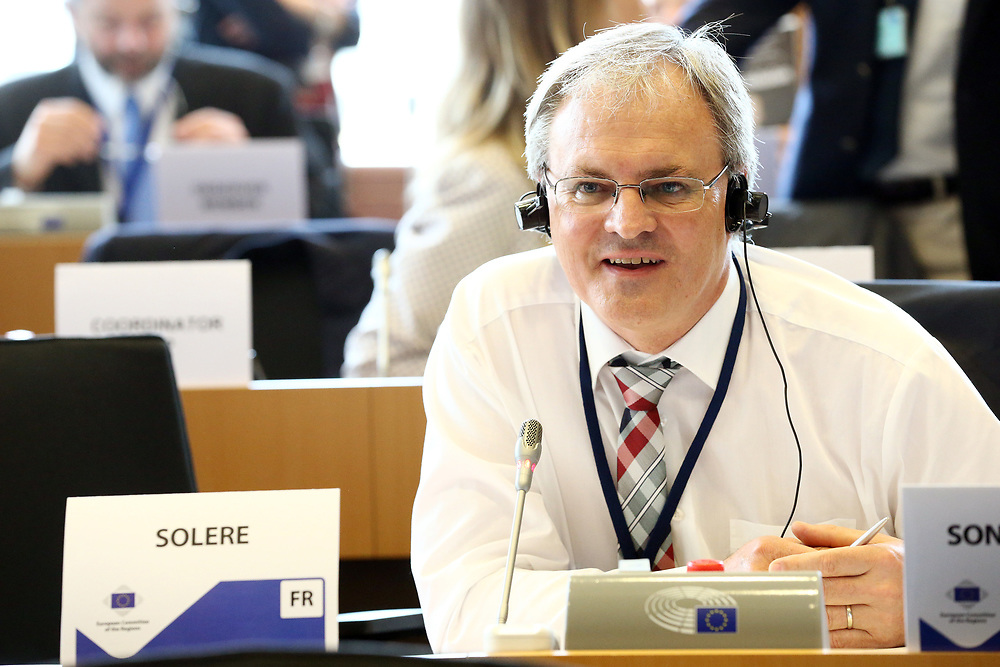 12 May 2017, 123rd Plenary Session of the European Committee of the Regions <br /> Belgium - Brussels - May 2017 <br /> <br /> Mr SONDEREGGER Harald, President of the Vorarlberg Regional Parliament,Austria<br /> <br /> © European Union / Patrick Mascart