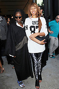 Sept. 7, 2014 - New York, NY, USA - <br /> <br /> Diane Von Furstenberg Fashion Show<br /> <br /> Whoopi Goldberg and Jerzey Dean attending Diane Von Furstenberg fashion show during Mercedes-Benz Fashion Week Spring 2015 at Spring Studios on September 7, 2014 in New York City <br /> ©Exclusivepix