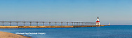 64795-03110 Michigan City Lighthouse & Pier Michigan City, MI