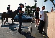 SUNSET BLVD 1998-2001 LAPD  bust