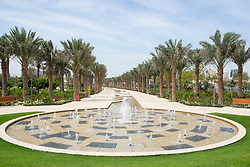 New Mushrif Central Park in Abu Dhabi United Arab Emirates
