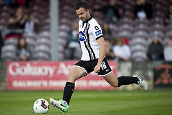 August 7, 2017 - Galway, Ireland - Robbie Benson of Dundalk kicks a penalty during the EA Sports Cup Semi-Final match between Galway United and Dundalk at Eamonn Deacy Park in Galway, Ireland on August 7, 2017  (Credit Image: © Andrew Surma/NurPhoto via ZUMA Press)