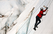 Ice climb, Patagonia