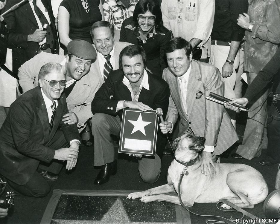 1978 Burt Reynolds' Walk of Fame ceremony