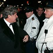 Playboy Feest 2000, Willibrord Frequin maakt ruzie met de politie