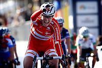 Sykkel<br /> UCI VM 2014<br /> Ponferrada Spania<br /> 26.09.2014<br /> Foto: PhotoNews/Digitalsport<br /> NORWAY ONLY<br /> <br /> Amalie Dideriksen (DEN)  pictured during  Championnats du Monde UCI CL / UCI RR World Championships (Women Juniors) - Road