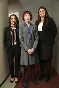 SHOT 12/4/19 11:13:47 AM - McGuane & Hogan, P.C., a Colorado family law firm located in Denver, Co. Includes attorneys Kathleen Ann Hogan, Halleh T. Omidi and Katie P. Ahles. (Photo by Marc Piscotty / © 2019)