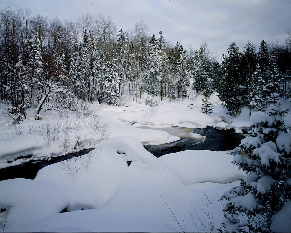 Iron County, Wisconsin, January, 1994.