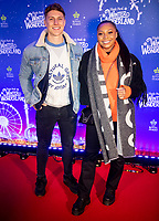 Alex Dean and Samira Mighty  at the  Hyde Park Winter Wonderland launch, London, UK - 20 Nov 2019