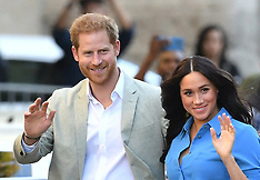 Duke & Duchess of Sussex in SA - 23 Sep 2019