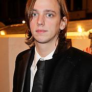 NLD/Amsterdam/20120123 - Premiere Black Out, zanger de Jeugd van tegenwoordig, Rapper/zanger Peter Fabergé