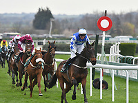 National Hunt Horse Racing - 2019 Randox Health Grand National Festival - Friday, Day Two (Ladies Day)<br /> <br /> W P Mullins on Cadmium winning <br /> the 16:05 Randox Health Topham Handicap Chase (Grade 3) (National Course)) at Aintree Racecourse.<br /> <br /> COLORSPORT/WINSTON BYNORTH