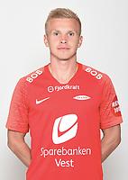 Fotball , Eliteserien 2019 , portrett , portretter , Brann<br /> Taijo Teniste