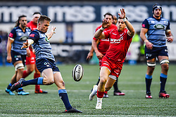 Cardiff Blues' Gareth Anscombe in action - Mandatory by-line: Craig Thomas/Replay images - 31/12/2017 - RUGBY - Cardiff Arms Park - Cardiff , Wales - Blues v Scarlets - Guinness Pro 14