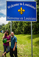 Finally in Louisianne on our 11th day.