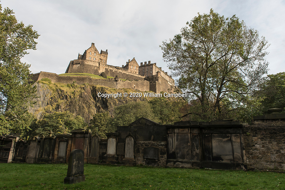 Edinburgh Castle in Edinburgh, Scotland dates back to the 12th century. It is one of the oldest castles in Europe.