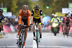 October 7, 2018 - Tours, France - TOURS, FRANCE - OCTOBER 7 : VAN EMDEN Jos (NED)  of Team Lotto NL - Jumbo during the 112th edition of the Paris - Tours Elite cycling race with start in Chartres and finish in Tours on October 07, 2018 in Tours, France, 7/10/2018 (Credit Image: © Panoramic via ZUMA Press)