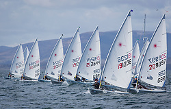 The annual RYA Youth National Championships is the UK's premier youth racing event. Perfect conditions for the fourth days racing.<br /> <br /> Laser Radial Start, 191236, Thomas Bryant, Cam Sailing Club, Laser Radial Boy <br /> <br /> Images: Marc Turner / RYA<br /> <br /> For further information contact:<br /> <br /> Richard Aspland, <br /> RYA Racing Communications Officer (on site)<br /> E: richard.aspland@rya.org.uk<br /> m: 07469 854599