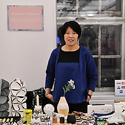 ToothPic Nations at Winter blossom fair: A celebration of east asian art, craft and design at China Exchange on 10 November 2018, London, UK.