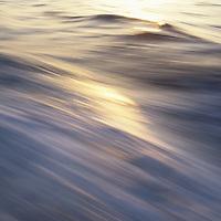 Republic of Palau, Ocean detail, water blurred