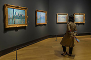 The Grand Canal, 1908, and other Venice paintings - The Credit Suisse Exhibition: Monet & Architecture a new exhibition in the Sainsbury Wing at The National Gallery.