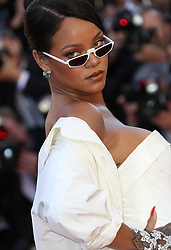 May 20, 2017 - Cannes, France - RIHANNA.Okja Red Carpet Arrivals - The 70th Annual Cannes Film Festival.CANNES, FRANCE - MAY 19: attends the 'Okja' screening during the 70th annual Cannes Film Festival at Palais des Festivals on May 19, 2017 in Cannes (Credit Image: © Visual via ZUMA Press)