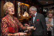 CHRISTINE HAMILTON; NEIL HAMILTON, Ralph Lauren host launch party for Nicky Haslam's book ' A Designer's Life' published by Jacqui Small. Ralph Lauren, 1 Bond St. London. 19 November 2014