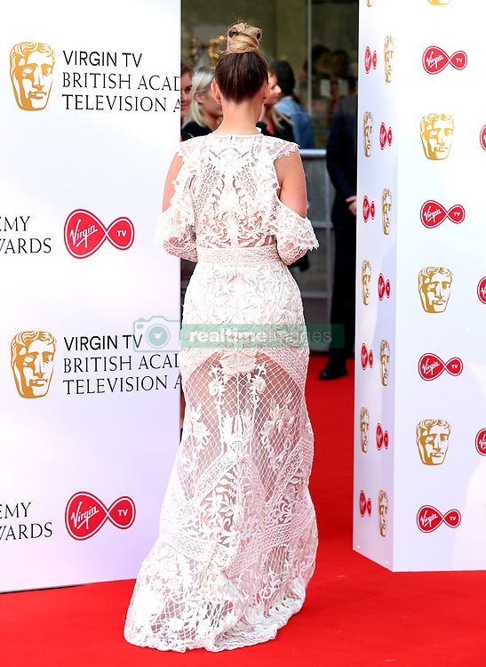 Kate Wright attending the Virgin TV British Academy Television Awards 2018 held at the Royal Festival Hall, Southbank Centre, London.