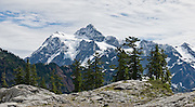 Mount Shuksan (9127 feet elevation), North Cascades National Park, Washington, USA
