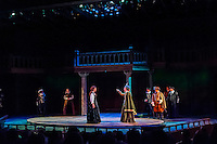 ?Mary Stuart? (the story of Queen Elizabeth I and her cousin, Mary Queen of Scots) performed at the Tony Award-winning Utah Shakespeare Festival, Adams Memorial Outdoor Stage, Cedar City, Utah USA.