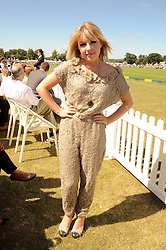 Singer VICTORIA HESKETH - Little Boots at the Veuve Clicquot Gold Cup polo final held at Cowdray Park, Midhurst, West Sussex on 18th July 2010.