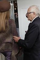Exclusif - Backstage du défilé Pierre Cardin - Fashion week PAP été 2011 - Paris, le 29/09/2010