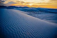 White Sands National Monument, near Alamogordo, New Mexico USA.