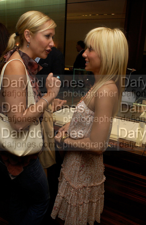 Tania Bryer and Princess Alexandra von Furstenburg. Book launch of ' The Russian House'  by Ella Krasner at De Beers. 50 Old Bond St. London W1. ONE TIME USE ONLY - DO NOT ARCHIVE  © Copyright Photograph by Dafydd Jones 66 Stockwell Park Rd. London SW9 0DA Tel 020 7733 0108 www.dafjones.com