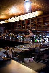Tom Chadwick's Dram bar friends and family night febraury 20, 2010 Photograph by © Jackie Neale Chadwick
