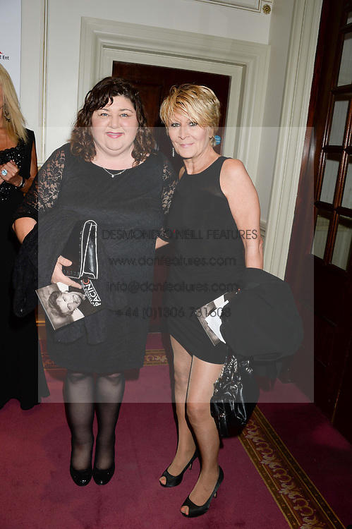 Left to right, CHERYL FERGUSON and LINDA HENRY at an evening with Al Pacino held at The London Palladium, London on 2nd June 2013.