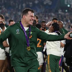 Schalk Brits during the Rugby World Cup Final match between South Africa Springboks and England Rugby World Cup Final at the International Stadium Yokohama  Japan.Saturday 02 November 2019. (Mandatory Byline - Fotosport/David Gibson)