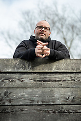 Portrait of Ciril Komotar, successful Slovenian vloger and author of Komotar minuta, on February 4, 2021 in  Ljubljana, Slovenia.  Photo by Vid Ponikvar / Sportida