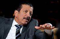 2010, BERLIN/GERMANY:<br /> Yousef Hussein Kamal, Wirtschafts- und Finanzminister Katar, waehrend einem Interview, Hotel Ritz-Charlton<br /> IMAGE: 20101216-01-020<br /> KEYWORDS: Yousef Hussain Kamal, Qatar